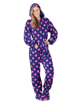 Adult foot pajama toon
