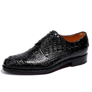 Eeayyygch Zapatos de Vestir de Cuero Hechos a Mano de los Hombres Zapatos de Negocios de Cuero Goodyear Zapatos de Boda del Novio Zapatos de Banquete de ...
