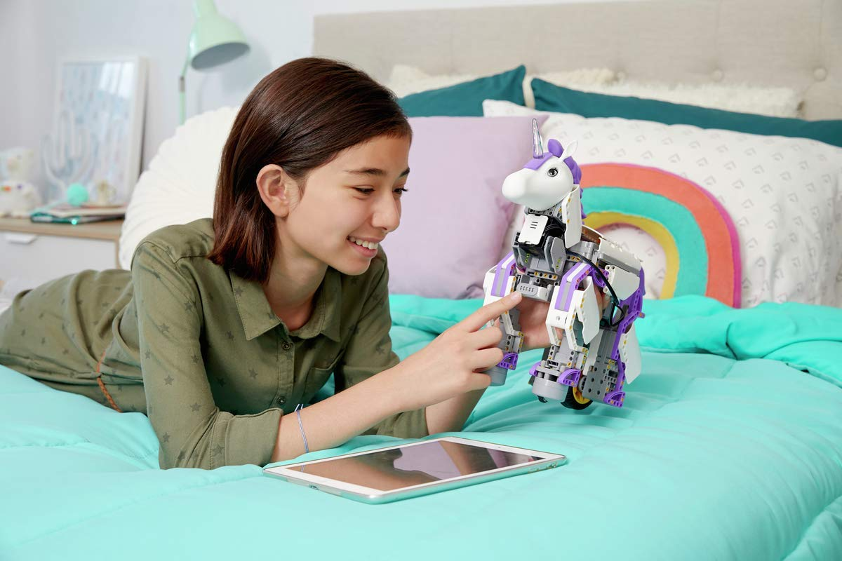 UBTECH Mythical Series: Unicornbot Kit-App-Enabled Building & Coding Stem Learning Kit by UBTECH (Image #4)