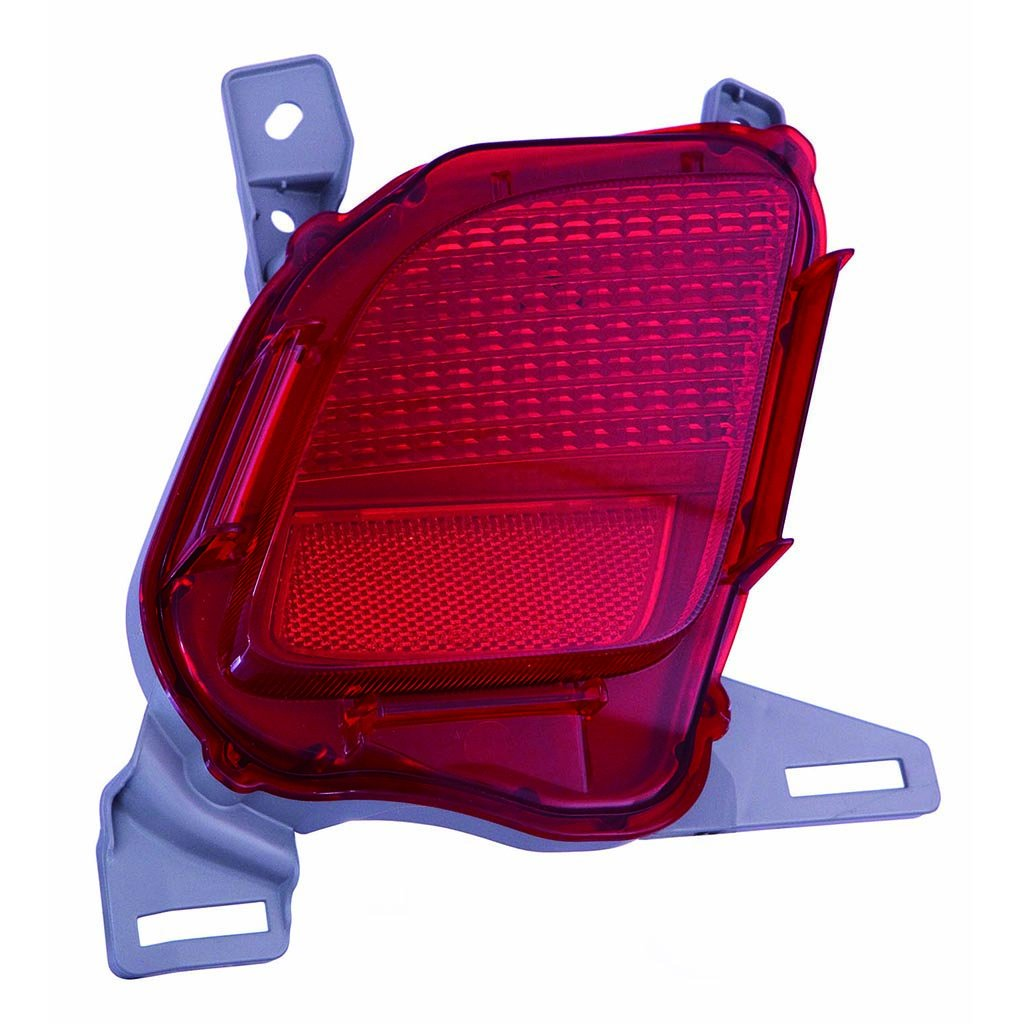 CarLights360: Fits 2014 2015 2016 2017 2018 TOYOTA HIGHLANDER Reflector Driver Side - (NSF Certified) Replacement for TO1184108