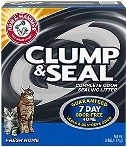 Arm & Hammer Clump & Seal Litter, Fresh Home, 28 Lbs