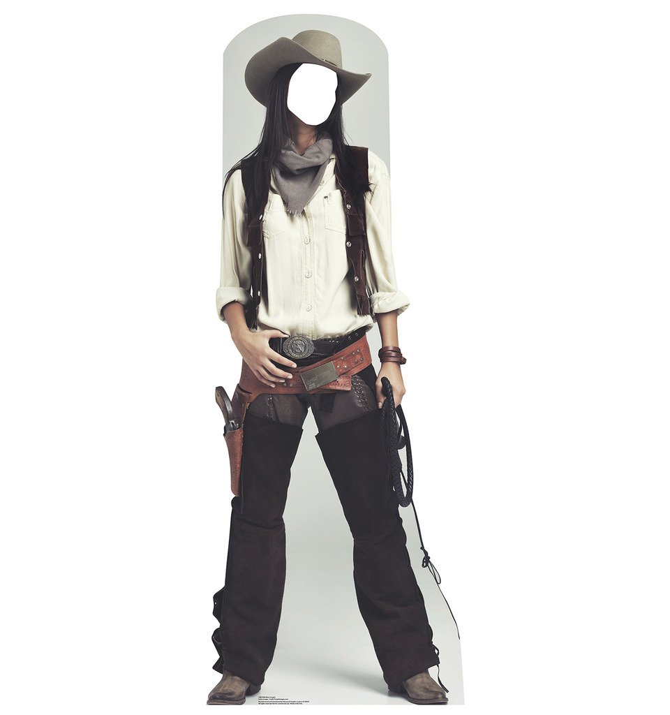 Wild West Cowgirl Stand-In - Advanced Graphics Life Size Cardboard Standup