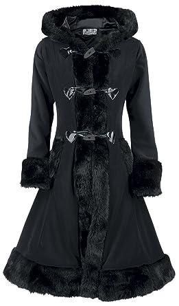 Amazon manteau femme noir
