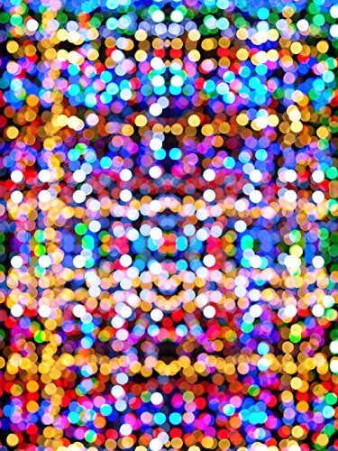 City Neon Light Backdrops Photography Backgrounds Polka Dot Digital Studio Wallpaper Booth Props (Party City Party Lights)