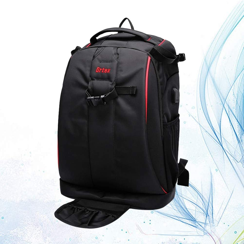 TENDYCOCO 32x20x47cm Professional Camera Backpack SLR Photo Shoulder Bag Laptop Bag for Outdoor Use