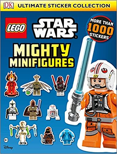 Buy Lego Star Wars: Mighty Minifigures Ultimate Sticker Collection ...