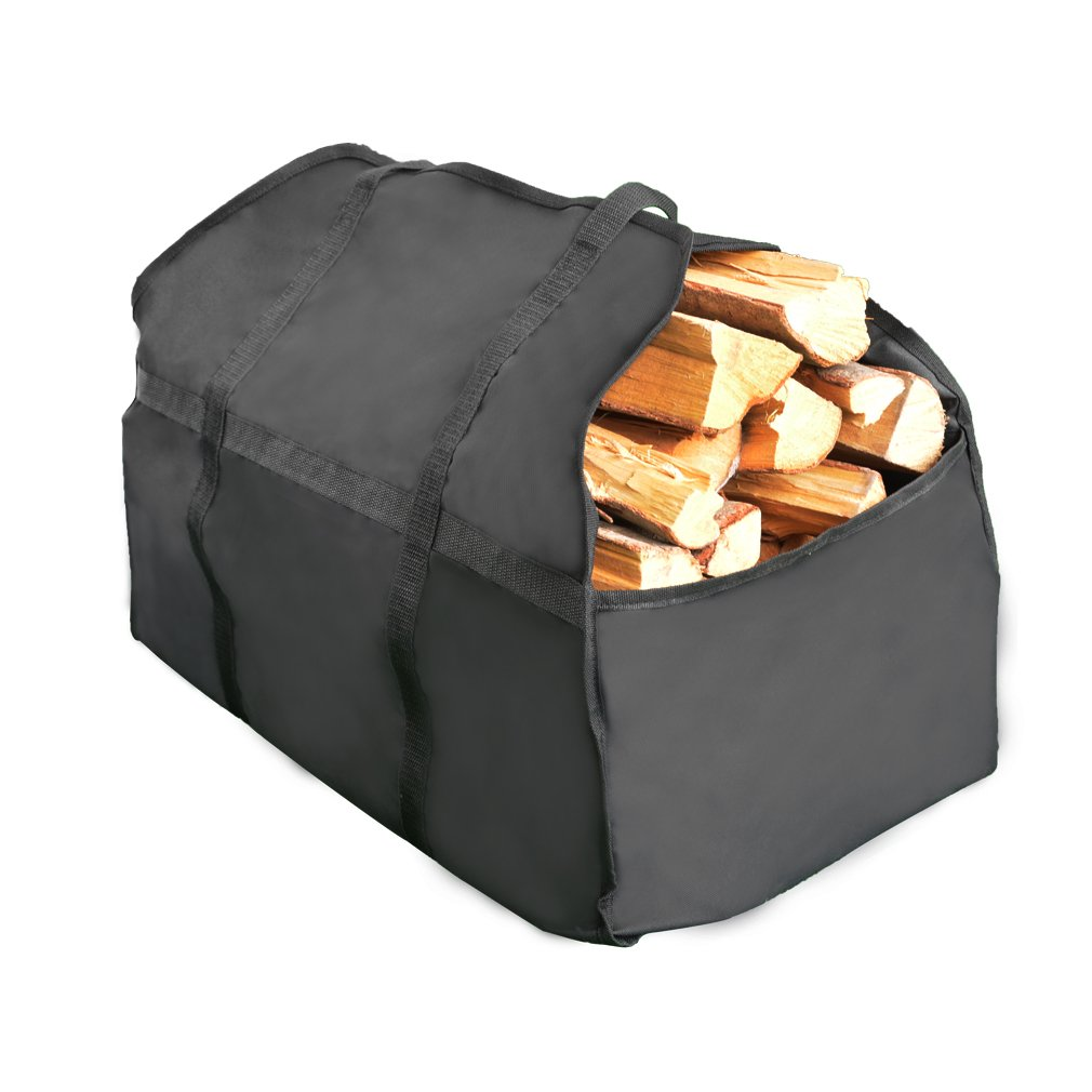 Stanbroil Foldable 2 Handles Large Size Capacity Firewood Carry Bag, Carrier, Log Tote, Log Holder by Stanbroil