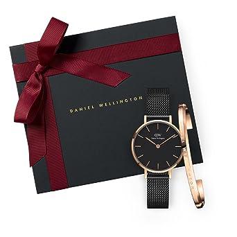 03805ce08db5 Gift Set Classic Petite Ashfield Black Watch 28mm + Cuff RG Small ...