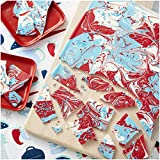 Wilton Red, White and Blue Candy Bark Set for