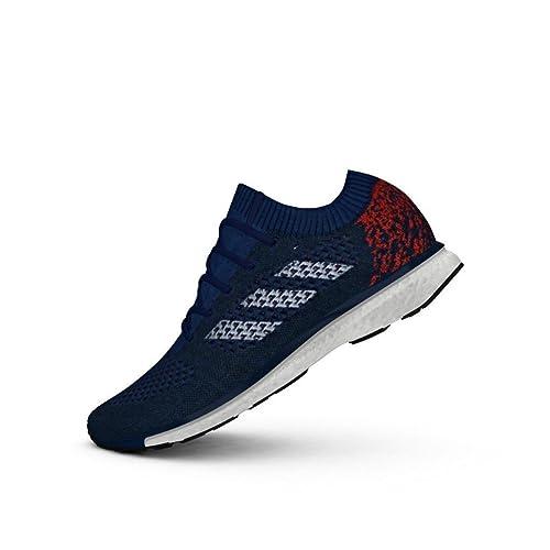 detailed look f1e1c 52836 Adidas Adizero Primeknit Shoe UK 11 Blue Navy Maroon  Amazon.co.uk  Shoes    Bags