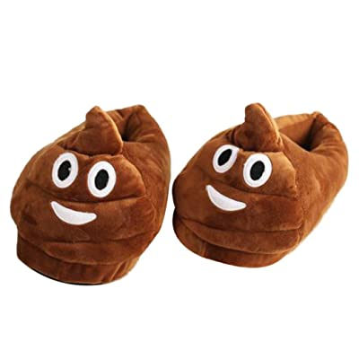 AMA(TM) Hot Soft Plush Creative Cartoon Slippers Winter Warm Indoor Shoes