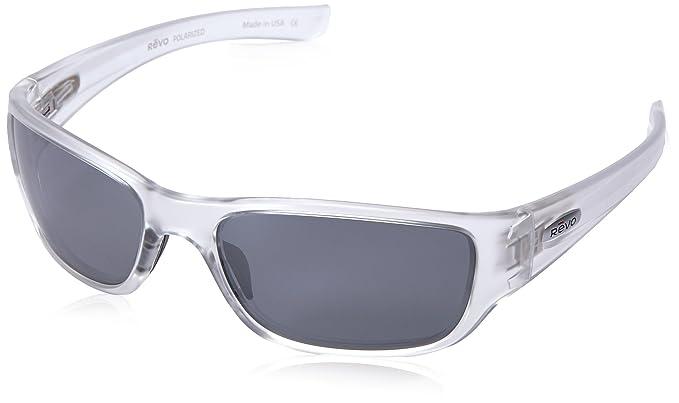db65ba3fbbb92 Revo Unisex RE 4058X Mason Wraparound Polarized UV Protection Sunglasses  Wrap