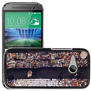 Super Stella Slim PC Hard Case Cover Skin Armor Shell Protection // M00106438 Music Store Store Shop Shopping // HTC One Mini 2 / M8 MINI / (Not Fits M8)