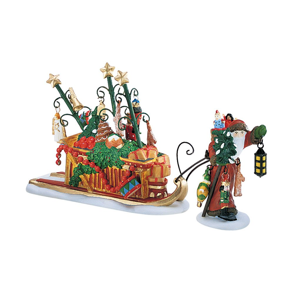 Dept. 56 Dickens Village Father Christmas's Journey 58407