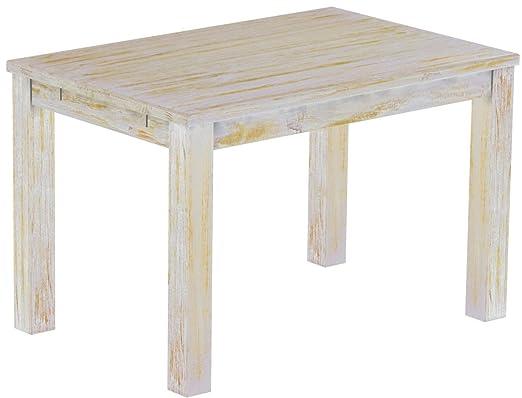 Brasil Muebles Mesa de Comedor Rio Clásico, 130 x 80 cm Shabby ...