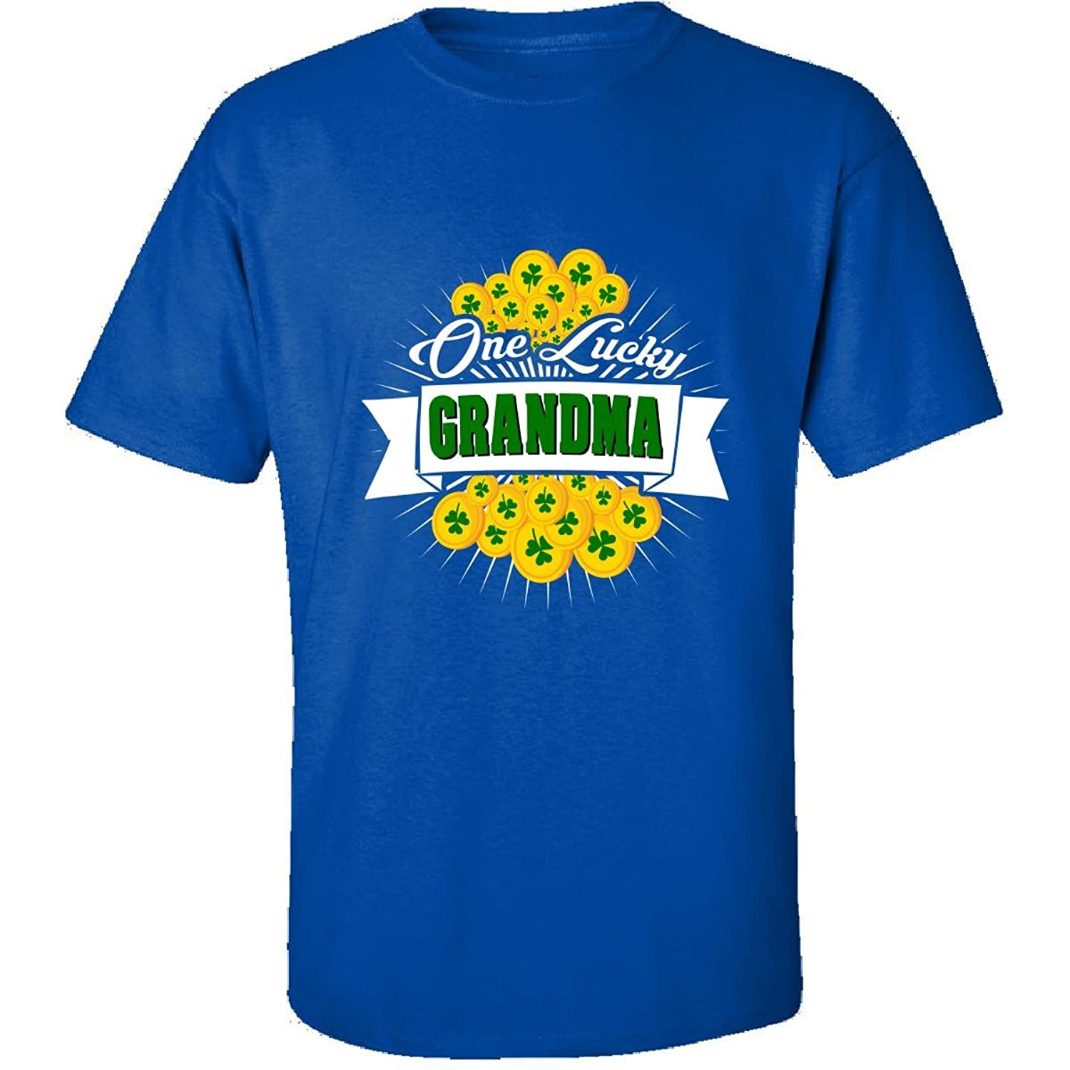 St Patricks Day Shirt One Lucky Grandma Irish Gift - Adult Shirt