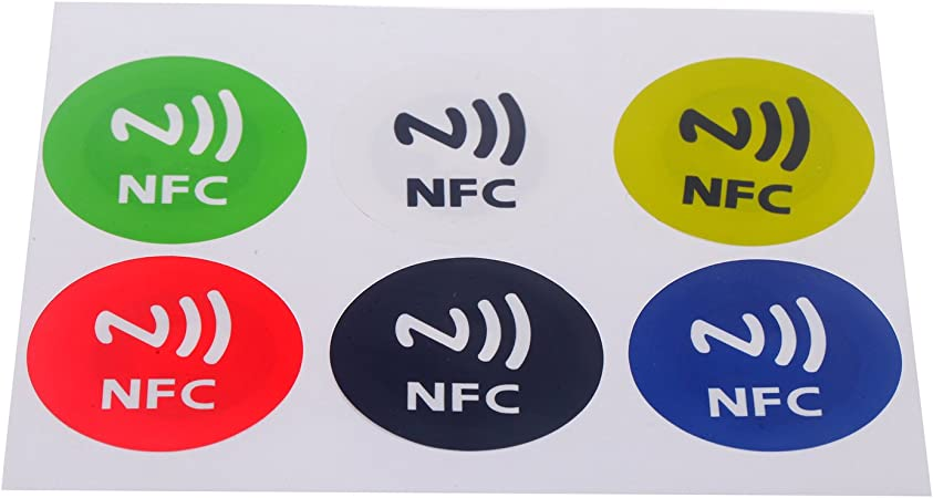 tinxi® 6 NFC Etiquetas Sticker Decal NTAG 203 por día estándar ...