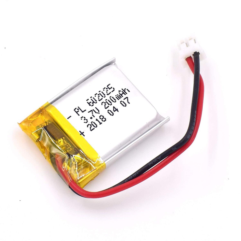 Bateria Lipo 3.7v 200mah 25 X 20 X 6mm Jst Conector