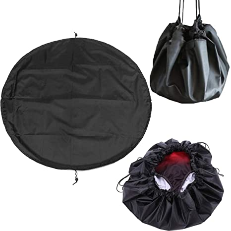 ideal for watersports Black Frostfire Moonbag Heavy duty changing mat and bag