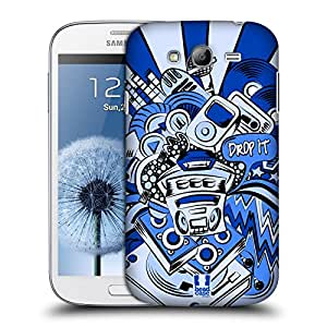 Head Case Designs Drop the Bass Invaders Hard Back Case Cover for Samsung Galaxy Grand I9082 I9080