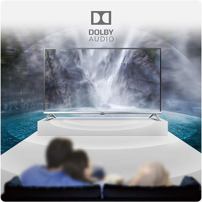 CHiQ L32D5T 32 pulgadas (80cm) Full HD LED TV, Triple Sintonizador DVB-T2/T/C/S2/S2/S2/S, CI+, HDMI, Reproductor multimedia vía USB, Clase de energía ...