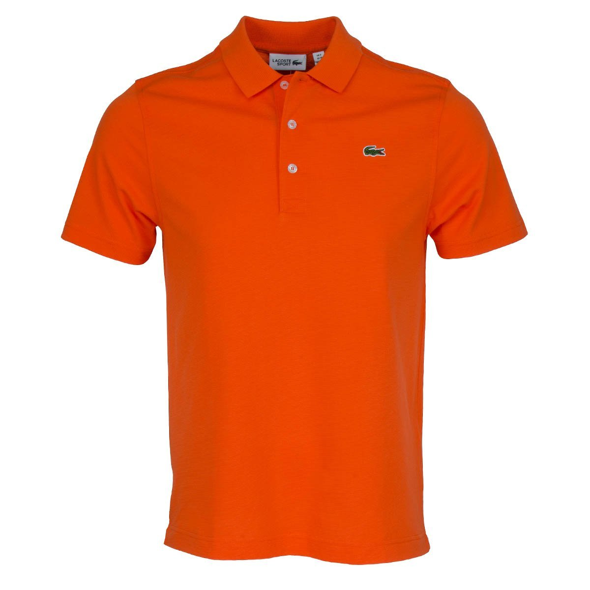 Lacoste Polo L1230 00 p40 Orange bouee Cotone elasten Regular 5