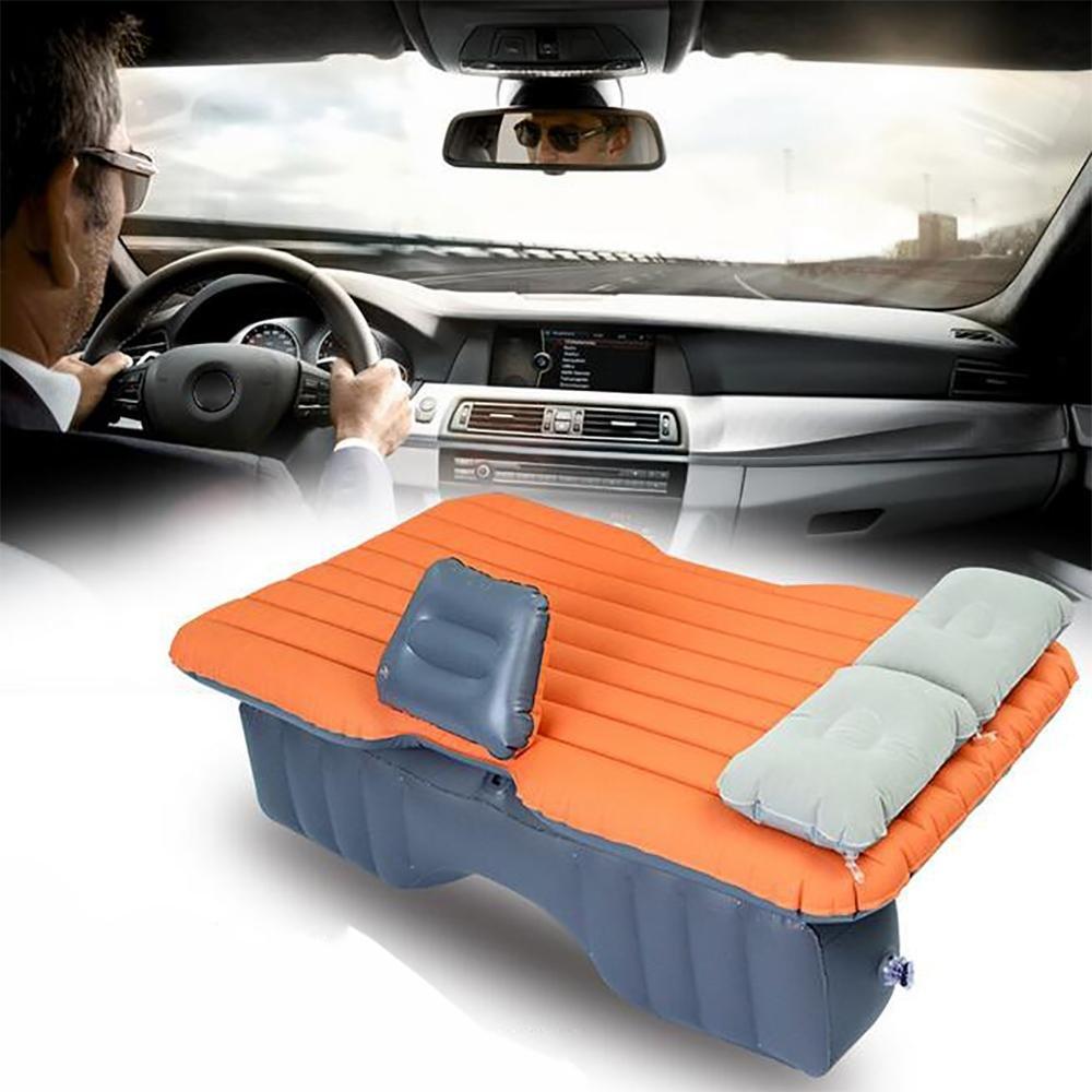 LPY-Auto-Reise-Luftmatratze-Luftpolster-Bett-Multifunktionsbewegliches aufblasbares Bett-Kissen für Schlaf-Rest und vertraute Bewegung