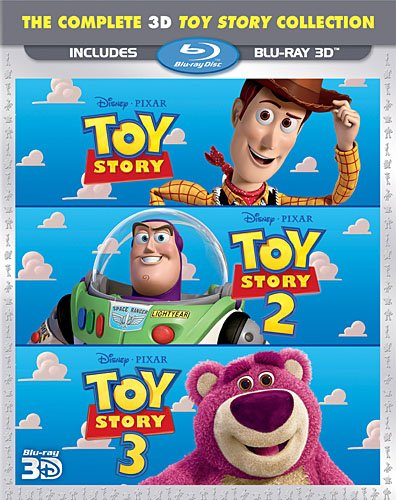 Toy Story Trilogy [Blu-ray 3D] by Walt Disney Studios Home Entertainment