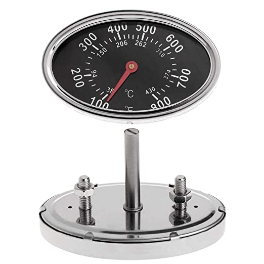 Fanst Temperature Tester,Smoker Gas Grill Lid Thermometer Gauge Camping Cooking Temp Heat Indicator 22551