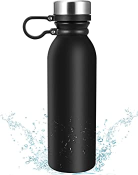 Eccomum Vacuum Thermo Flask 18/8 Double Wall Water Bottle (20oz)