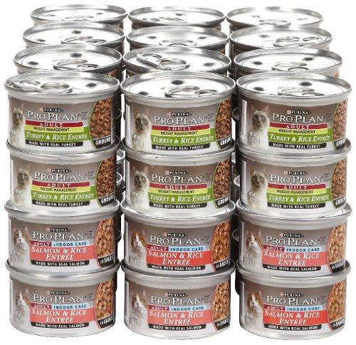 PURINA Pro Plan Focus Indoor & Weight Management Wet Food Bundle - 48x3oz