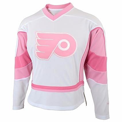 5a306b415 Philadelphia Flyers NHL Reebok Girls White Official Team Fashion Jersey (M)