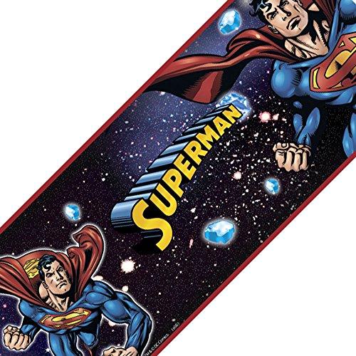 RoomMates Superman Peel and Stick Wall Border -