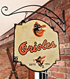 MLB Baltimore Orioles Tavern Sign, One Size, Orange