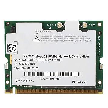 Tarjeta WiFi Mini-PCI para WiFi Link 2915ABG, Red ...