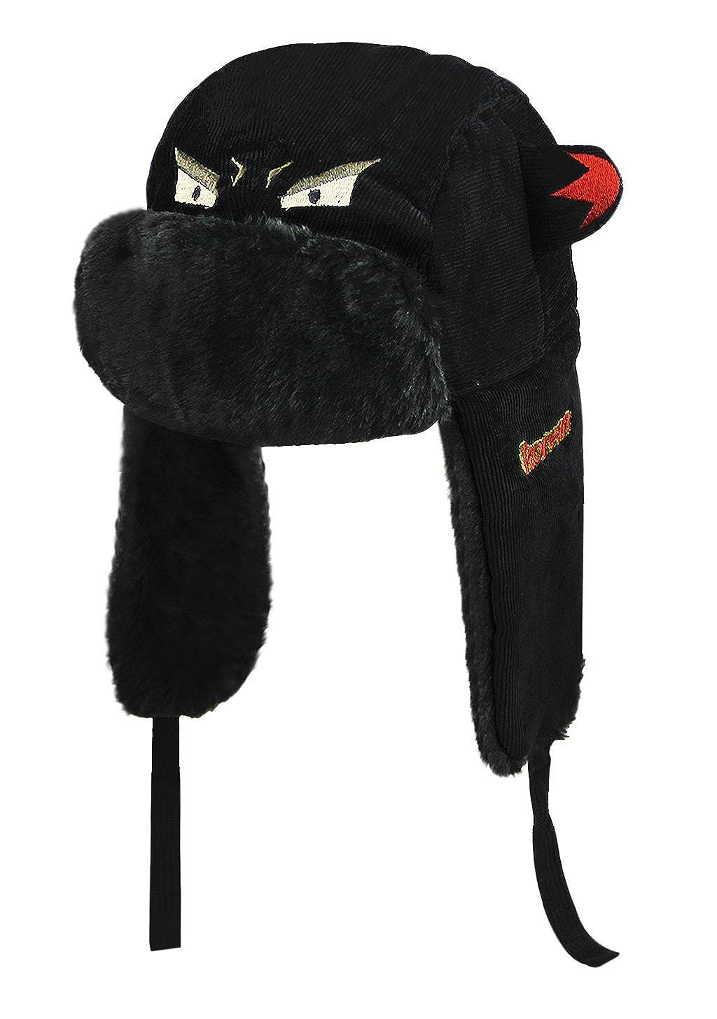 2c096ac07b8c3 Moonlove Chapka Enfant Fille Garçon Bonnet Chaud pour Enfant Bonnet Ski  Fille Garçon Cagoule Polaire Enfant Bonnet Cache Oreilles en Motif de  Cartoon pour ...