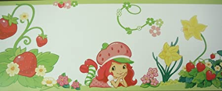 Strawberry Shortcake Wallpaper Border 12106603