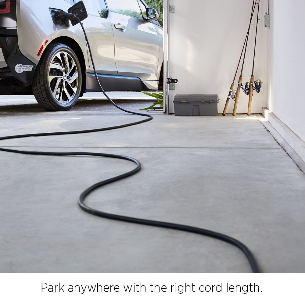 European, 30 Feet and 50 Feet Lengths PRIMECOM Level-2 Electric Vehicle Charger 220 Volt 30 35 40