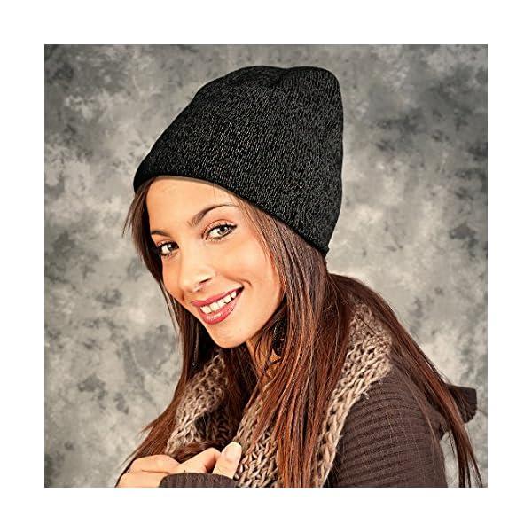 6967f55e EZGO Warm Reflective Knitted Winter Beanie Hat, Unisex Winter ...
