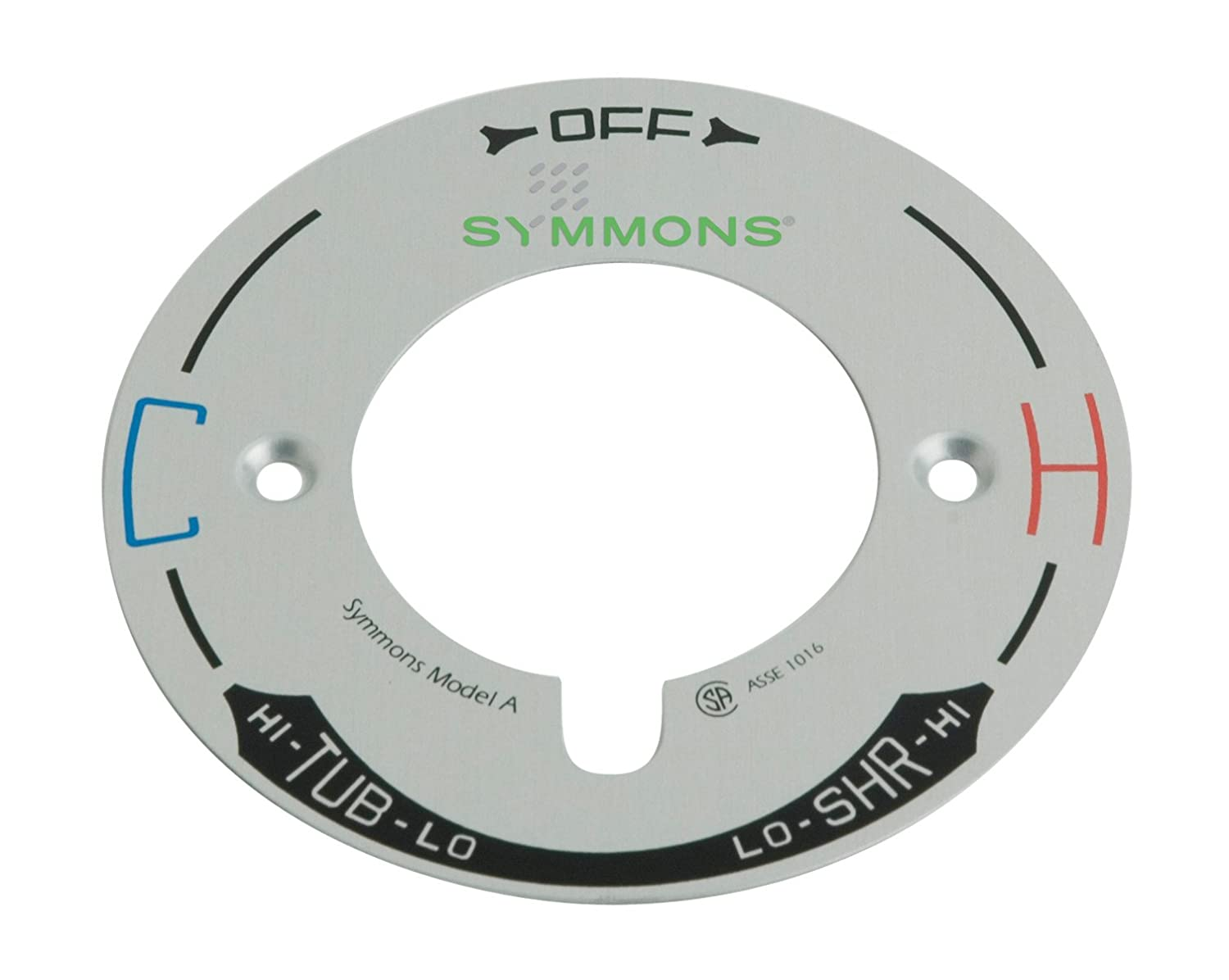 web products allura hand symmons inc system industries shower