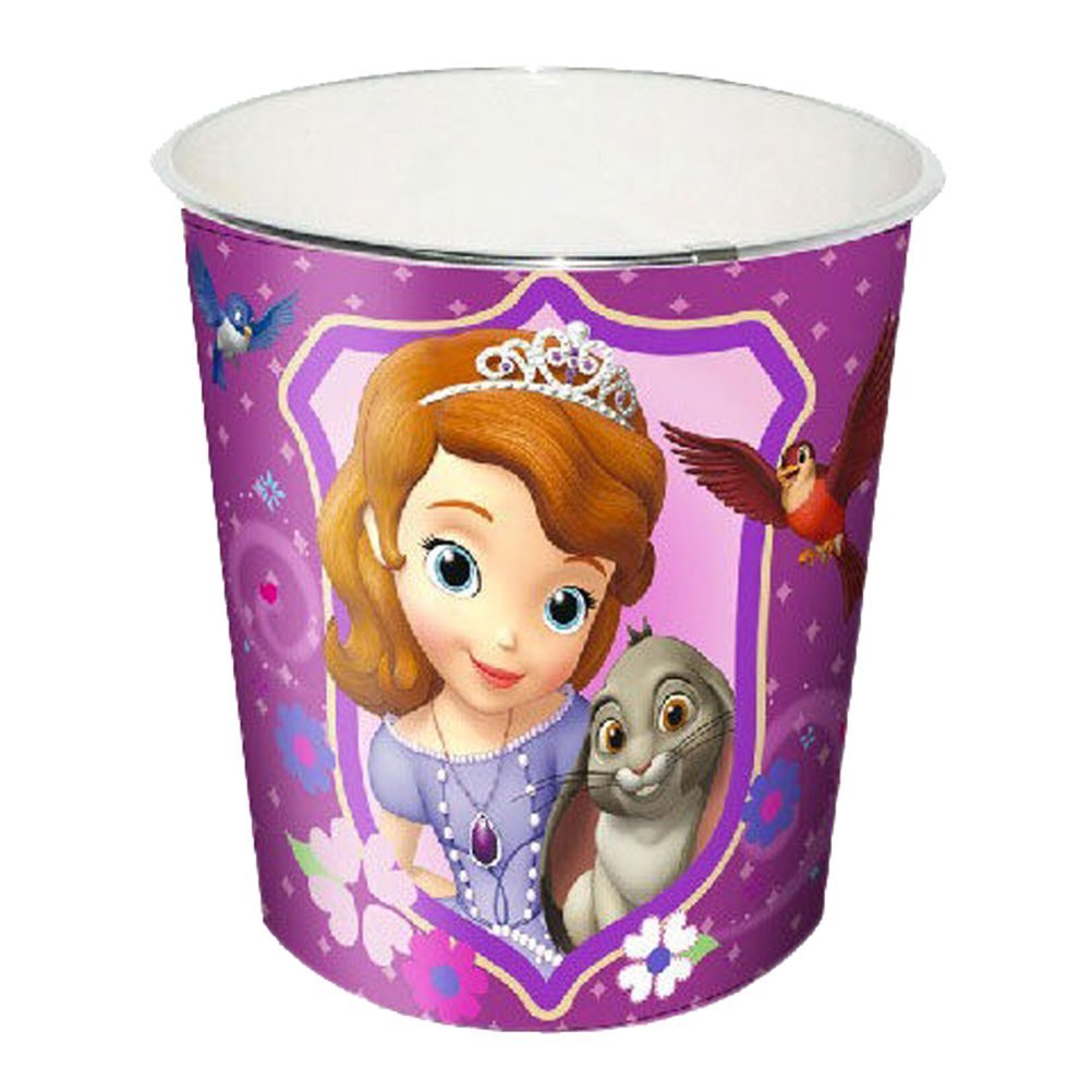 Principessa Sofia–Cestino di plastica, Kids Euroswan wd71006