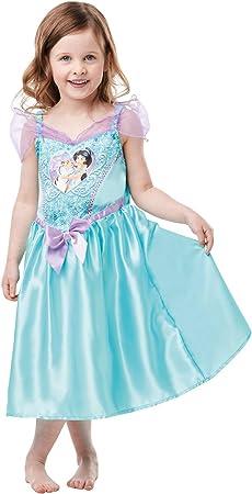 Rubies 641356TODD Disfraz clásico de jazmín de princesa Disney con ...