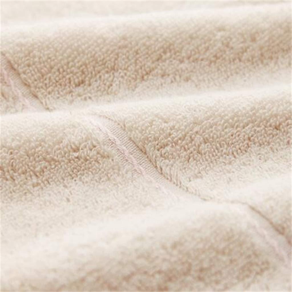 WWJ-towel Toallas De AlgodóN Puro Suave Y FáCil De Limpiar Adulto AlgodóN BáSico Largo 1 Toalla De BañO +2 Toalla Absorbente De Agua Traje: Amazon.es: Hogar