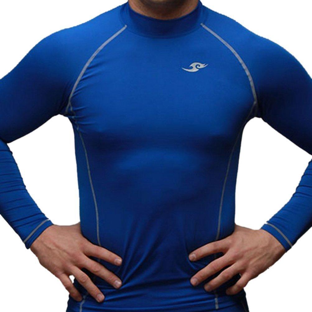 JustOneStyle Take Five Herren 039 Skin-Tight Kompressions-Baselayer Blau