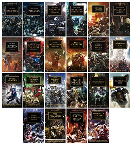 The Horus Heresy Bundle Set Collection (Vol.1-22) [Warhammer 40,000 40K 30K]