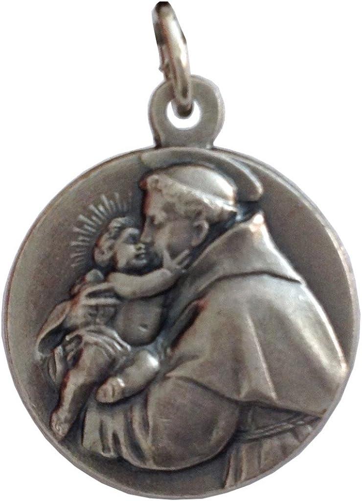 Medalla de San Antonio de Padua - Las medallas de Los Patronos: Amazon.es: Joyería