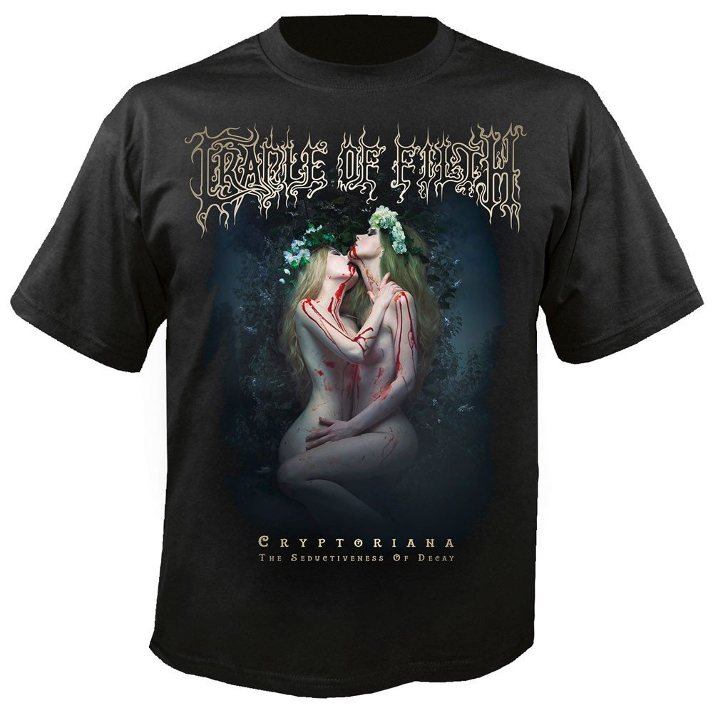 T-Shirt XXL Savage waves of ecstasy CRADLE OF FILTH