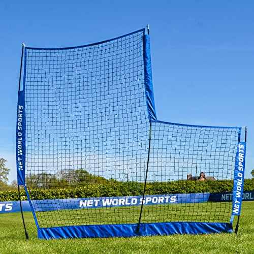 FORTRESS Portable Pop-Up L-Screen – Lightweight & Portable Baseball L-Screen [Net World Sports] by Fortress