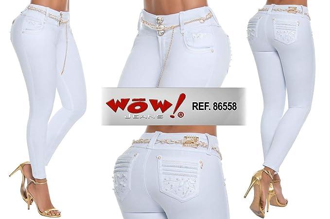 Amazon.com: Wow Jeans 86558 - Pantalones vaqueros 100 ...