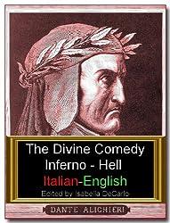 The Divine Comedy Italian-English Dual Language Version - Inferno (Illustrated)
